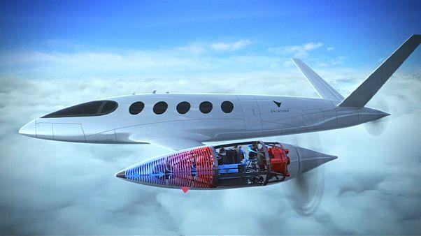 طائرة كهربائية تم الإعلان عنها في معرض باريس الجوي للعام 2019