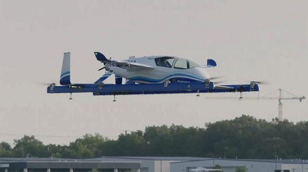 Les taxis volants : demain dans le ciel, aujourd'hui au Bourget