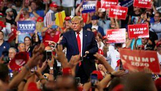 Trump 2020 ABD başkanlık yarışı için seçim kampanyasını resmen başlattı