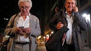 Platini, en libertad tras ser interrogado por presunta corrupción