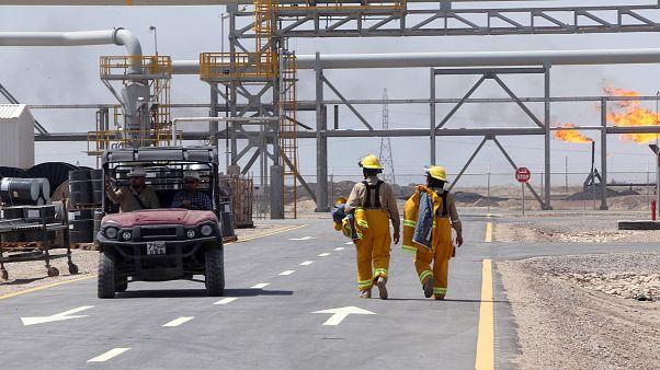 میدان نفتی قرنه یک محل شرکت اکسوموبیل در بصره