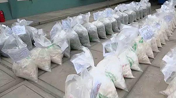 ABD'de değeri 1 milyar doları bulan 16,5 ton kokain ele geçirildi