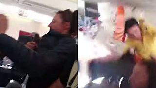 ΒΙΝΤΕΟ: Τρόμος από αναταράξεις στην πτήση Κόσοβο-Ελβετία