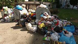 Bosnien: Anwohner blockieren giftige Mülldeponie