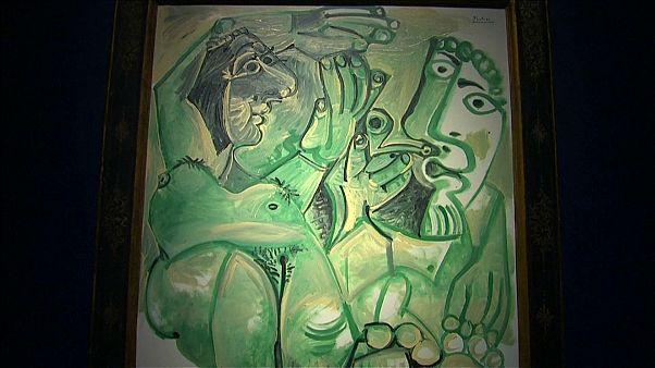 La obra erótica de Picasso 'Hombre y Mujer' vendida por 14 millones