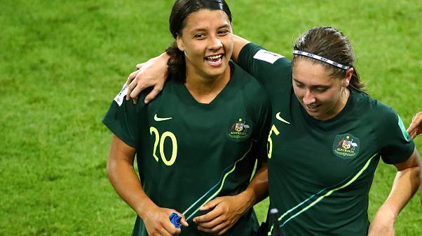 Women's World Cup 2019: Sam Kerr scores all four goals as Australia beat Jamaica 4-1