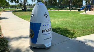"""HP Robocop"", nouvelle recrue de la police de Huntington Park"