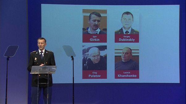 Tres rusos y un ucraniano acusados por el derribo del  MH17
