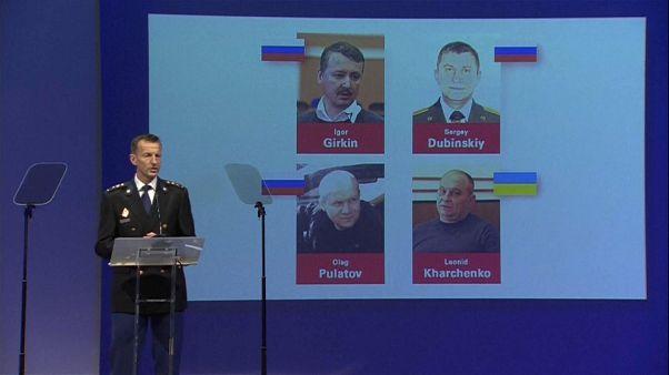 Queda do MH17 : Mandados de Captura Internacionais para 4 suspeitos