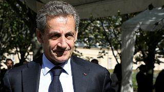 الرئيس الفرنسي السابق نيكولا ساركوزي
