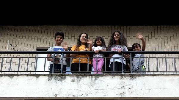 Refugiados reconstroem a vida em Portugal