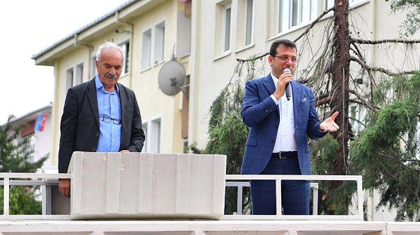 CHP İstanbul Büyükşehir Belediye Başkan Adayı Ekrem İmamoğlu
