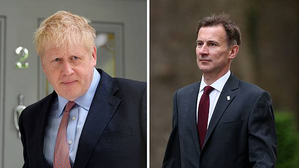 Johnson and Hunt to go head-to-head in Conservative leadership contest