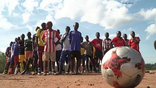 Top Italian football club train refugees and local youth in Uganda to 'promote sports and peace'