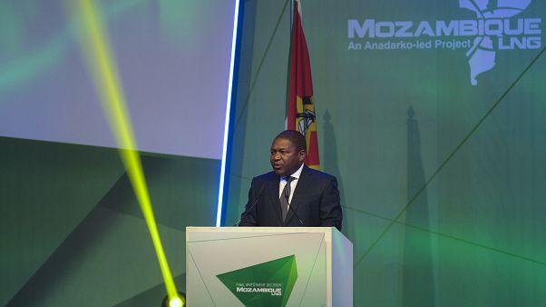 O Presidente de Moçambique, Filipe Nyusi