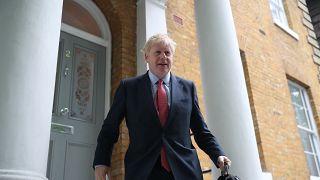Boris Johnson a caminho de Downing Street