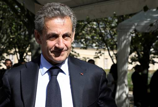 FILE PHOTO: Former French President Nicolas Sarkozy attends the national ceremony to pay tribute to the victims of militant attacks, in Paris, France September 19, 2018