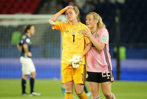 Scotland out of the women's World Cup after draw with Argentina