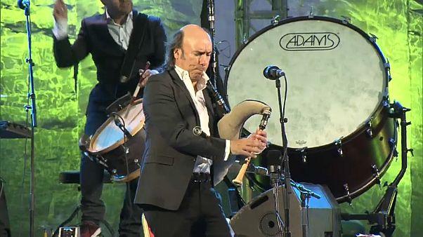 Carlos Núñez, embajador musical en el festival de Fès