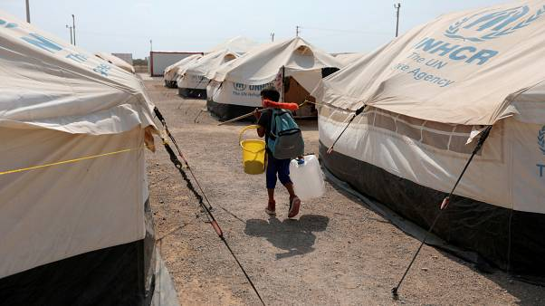 70 million people are displaced worldwide currently