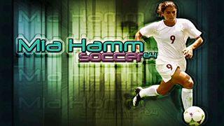 Capture d'écran du jeu Mia Hamm soccer sur Nintendo 64 en 2000