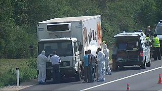 Prisão perpétua pela trágica morte de um grupo de imigrantes