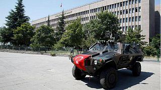 کاخ دادگستری ترکیه در آنکارا
