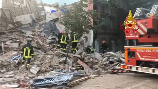 Gázrobbanás Északkelet-Olaszországban