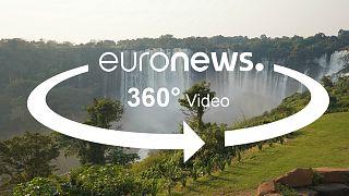 View this 360° video to see the Kalandula Falls one of Angola's natural beauties