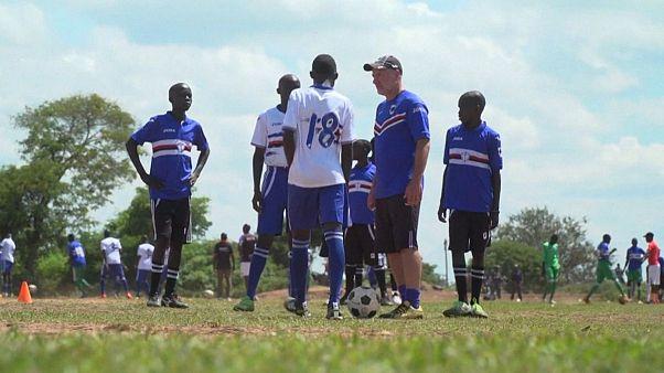 فوتبال کودکان پناهجو برای صلح و امید