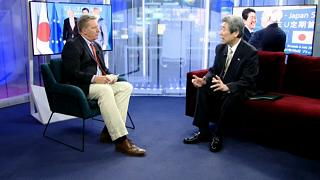 'We must navigate the explosive trade issues,' says Japan's ambassador in Brussels