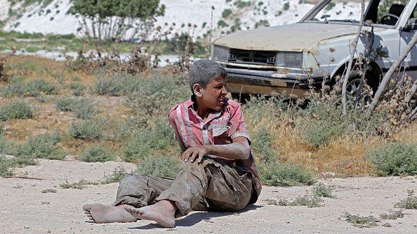 حمله هوایی ارتش سوریه به مواضع مخالفان؛ ۲ امدادگر و ۷ کودک کشته شدند