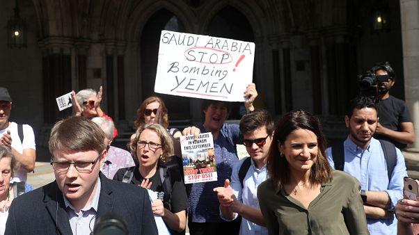 İngiliz mahkemesi, hükümetin Suudi Arabistan'a silah satışını hukuksuz buldu