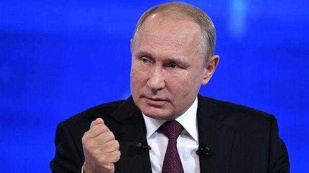 ولادمیر پوتین رئیس جمهور روسیه