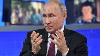 """Putin em """"Linha Direta"""""""