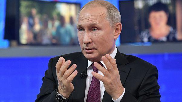 Ο Πούτιν απαντά στους πολίτες