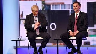 Boris Johnson and Jeremy Hunt both attended elite fee-paying schools