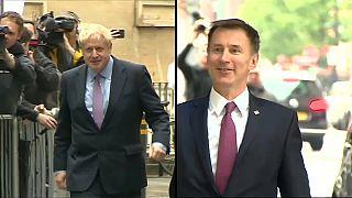 Boris Johnson contra Jeremy Hunt en la carrera por suceder a Theresa May
