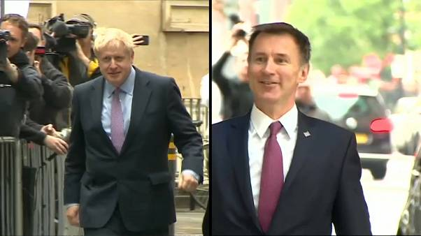 Boris Johnson contra Jeremy Hunt en la carrera por suceder a Theresa May