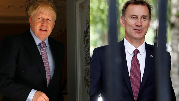 Boris Johnson e Jeremy Hunt