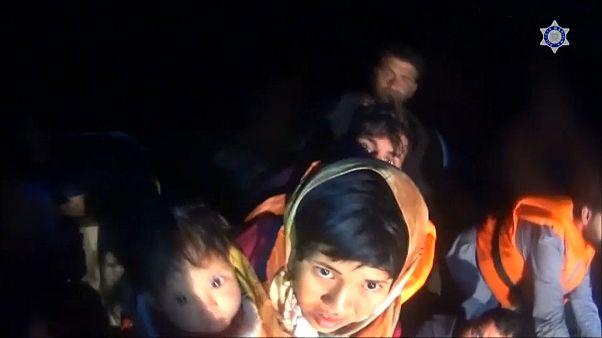 В Эгейском море спасли мигрантов
