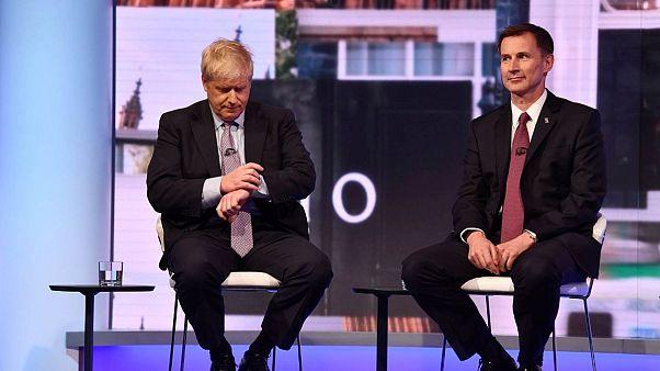 بوریس جانسون و جرمی هانت به مرحله نهایی رقابت برای نخست وزیری بریتانیا راه یافتند
