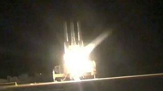 انتشار ویدئویی از لحظه «پرتاب موشک» به سمت پهپاد آمریکایی