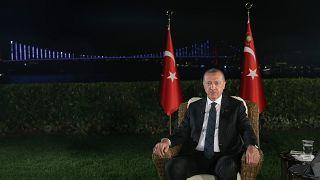 Cumhurbaşkanı Erdoğan: Öcalan liderlik mücadelesinde Demirtaş ve dağa mesaj veriyor