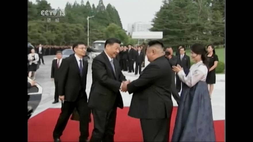 Визит китайского лидера в КНДР