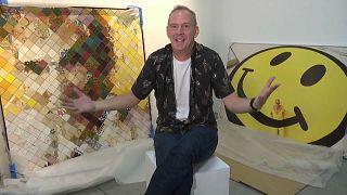 Norman Cook, de nome verdadeiro, o músico é agora também curador de arte
