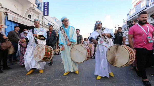 Esauira al ritmo de la música Gnawa
