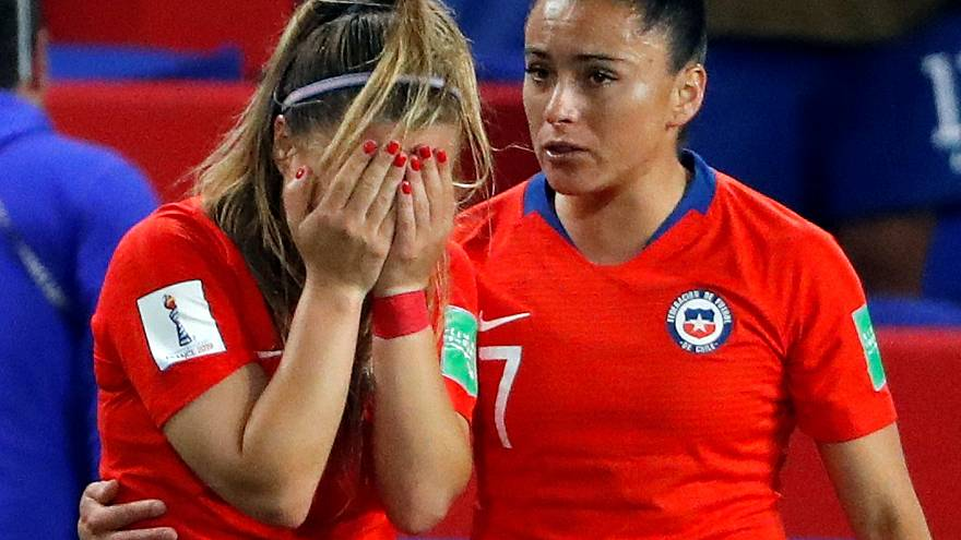 Chile eliminated from women's World Cup, despite perseverance