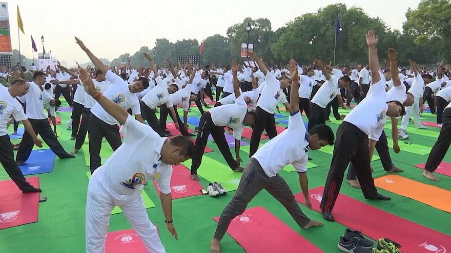 Ημέρα Γιόγκα στην Ινδία!