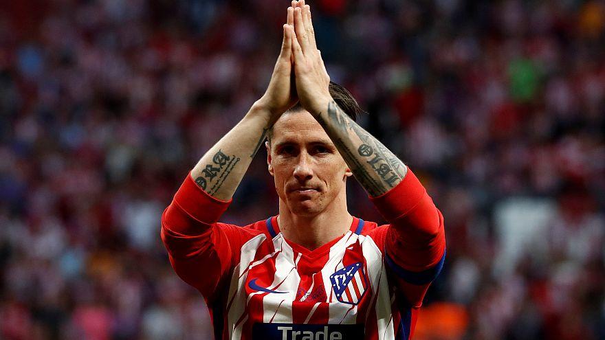 İspanyol golcü Fernando Torres yeşil sahalara veda ediyor